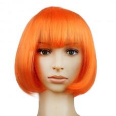 Парик Каре, цвет оранжевый