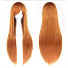 Парик Длинный оранжево-коричневый