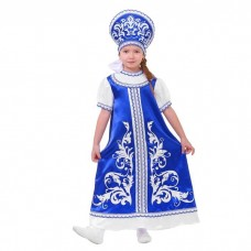 Русский костюм Гжель