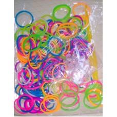 Набор для плетения браслетов из силиконовых резинок Loom Bands №5427.75
