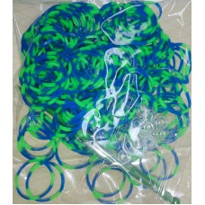 Набор для плетения браслетов из силиконовых резинок Loom Bands №5432.75
