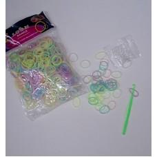 Набор для плетения браслетов из силиконовых резинок Loom Bands №5435.75