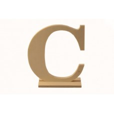 Деревянная буква *С* 12,5x4x15см №5261.120
