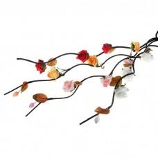 Декор тинги 160 см (цена за шт) роза липнина, цвет: Белый №5288.70