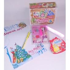 Подарок на новый год от Деда Мороза для девочки (из 6 предметов) №4823.367