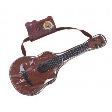 Гитара музыкальная, пластик, размер: 16 × 41 × 6 см