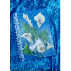 Альбом для пожеланий SvetikFantasy, А5, цвет: синий №4751.450
