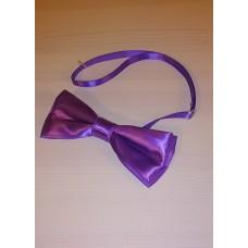 Галстук бабочка классика фиолетовый  5,5х12,5см №4838.65
