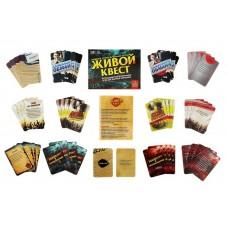 """Игра с карточками """"Живой квест"""",  размер 3,6 × 10,8 × 14,5 см №4587.621"""