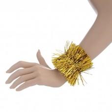 Карнавальный браслет золото 8 х 22 см N4619.16