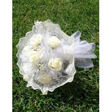 Букет невесты Айвори (Латекс)  №4261.190