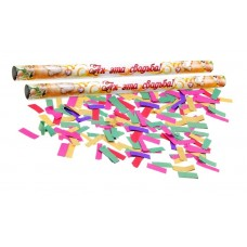 "Палочка конфетти ""Ах, эта свадьба!!!""конфетти- бумага 35 см №3974.78"