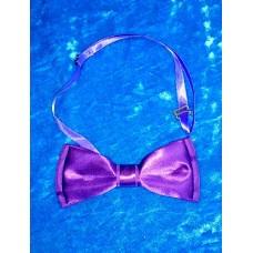 Галстук бабочка классика, цвет: фиолетовый,  5,5х12,5см №4030.40