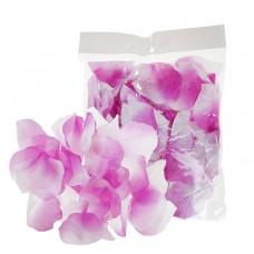 Лепестки текстиль (упаковка 150 шт) Сиреневые тканевые №4102.30
