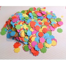 """Конфетти """"Цветы"""" цветные  42 гр №3736.90"""