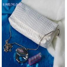 Сумка - клатч, эко-кожа,   Цвет: белый №3777.403