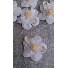 Значок - цветочки  для гостей  SvetikFantasy Размер: 4 см №3259.23