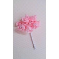 Букетик розовый из 12 розочек   №3142.120
