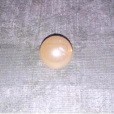 Бусины шарики перламутровые кремовые размер: 1,4 см №3146.20