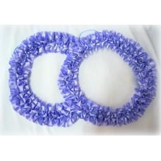 Два кольца для украшения квартиры, зала, стен, штор атлас цвет: сиреневый №2824.101