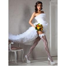 Свадебные чулки SP CORNUTA  40den цвета: bianco (белый)  S/M  №2758.433