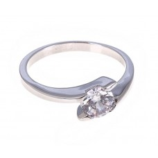 "Кольцо ""Венец"" круг, цвет серебро, размер 17 №2317.65"
