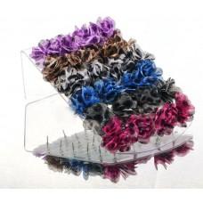 Серьги (1 пара), выберите цвет 2,5 см №2373.11