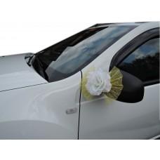 "Бантики на ручку, зеркала автомобиля ""Розы"""