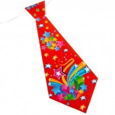 Карнавальный галстук Фейерверк звезд №5651.10