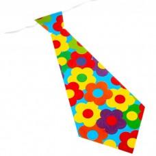 Карнавальный галстук Цветы №5654.10