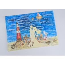 Альбом для пожеланий SvetikFantasy, А5, цвет: синий №5685.650