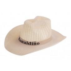 Шляпа ковбой плетеная Ronaldiho №6077