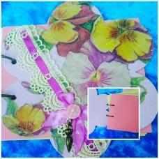 Блокнот Цветок №6418