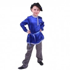 Русский народный костюм для мальчика синий