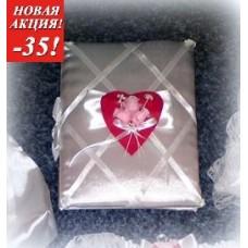 Распродажа Альбом для пожеланий SvetikFantasy, белый с красным  №705.563