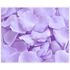 Лепестки роз цвет Сиреневый (144шт) тканевые №15.39