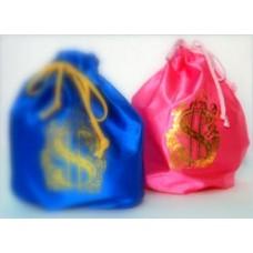 Мешок для сбора денег розовый 1штука №10.65