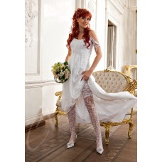 Чулки свадебные  SB Austria  цвета:белый/bianco Размер: S/M; M/L №14.627