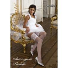 Чулки свадебные SP SBERLEFFO цвета: белый/bianco Размер: S/M