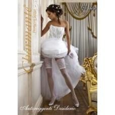 Чулки свадебные SP DESIDERIO цвета:шампань/ghiaccio Размер: L/XL