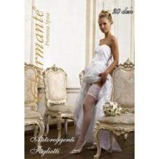 Чулки свадебные SP FOGLIETTE 20den Цвет: bianco (белый) Размер: S/M, L/XL №2071.512