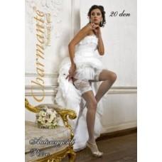 Чулки свадебные  SP PIZZO 20 ghiaccio (шампань) Размер:  L/XL №2067.512