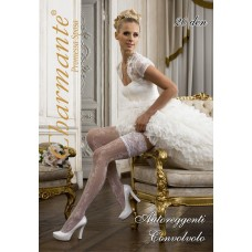 Чулки свадебные  SP CONVOLVOLO 20 aut цвета:белый/bianco Размер: S/M №21.540