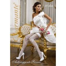 Чулки свадебные SP ROSAIO 20 den  цвета: белый/bianco Размер: S/M №17.480