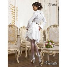 Свадебные колготки SP VIOLETTA 20den белые №7.398