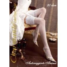 Чулки свадебные белые ANIMA Размер: S/M