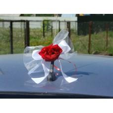 """Бантик на ручку автомобиля, на зеркало """"Svetik Fantasy"""" цвет в ассортименте №10.60"""
