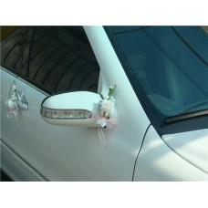 "Букетик на ручку, зеркало автомобиля  ""Svetik Fantasy"" розовый  Цена за 1 штуку №48.96"