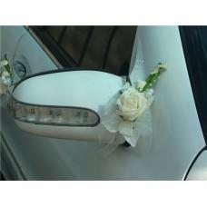 "Букетик на зеркало автомобиля  ""Svetik Fantasy"" айвори  Цена за 1 штуку №49.96"