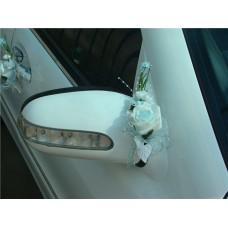 "Букетик на зеркало автомобиля  ""SvetikFantasy"" голубой  Цена за 1 штуку №51.96"